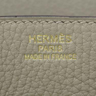 Hermes Birkin 35 Sauge