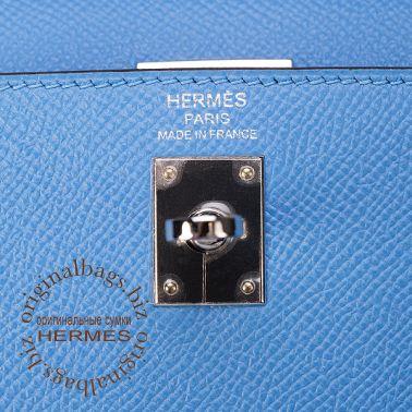 Hermes Kelly 25 Blue Paradise