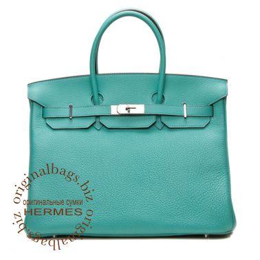 Hermes Birkin 35 Aqua