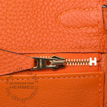 Hermes Kelly 25 Orange