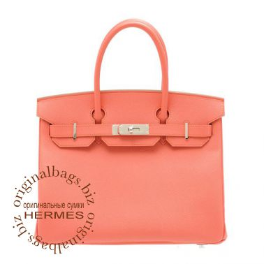 Hermes Birkin 30 Flamingo