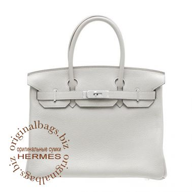 Hermes Birkin 30 Pearl Grey