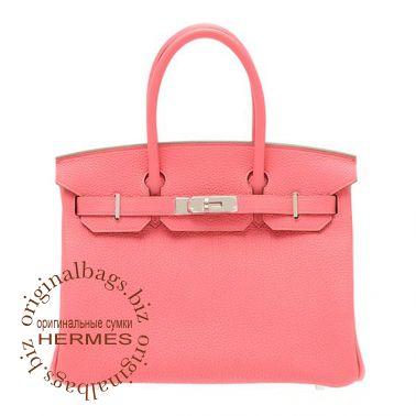 Hermes Birkin 30 Rose Lipstick