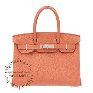 Hermes Birkin 30 Rose Tea