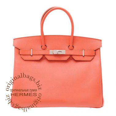 Hermes Birkin 35 Flamingo