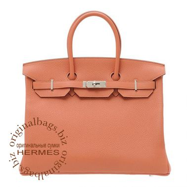 Hermes Birkin 35 Rose Tea