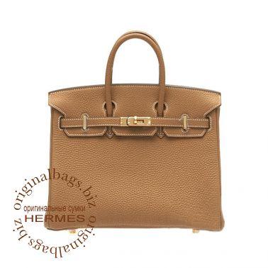Hermes Birkin 25 Gold