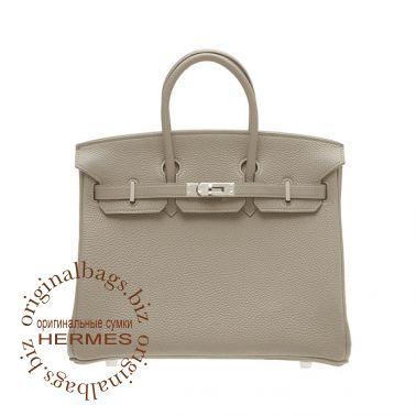 Hermes Birkin 25 Tourterelle grey