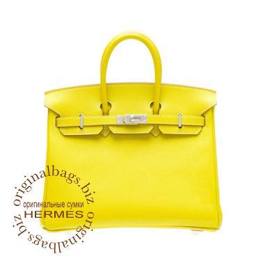 Hermes Birkin 25 Candy Lime