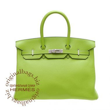 Hermes Birkin 35 Apple Green