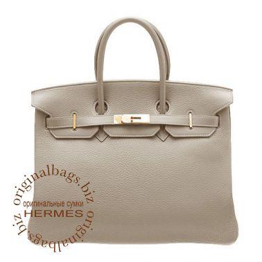 Hermes Birkin 35 Tourterelle Grey