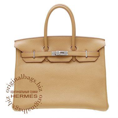 Hermes Birkin 35 Tabac Camel