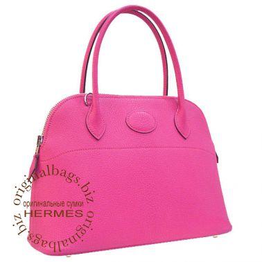 Hermes Bolide 27 Fuschia Pink