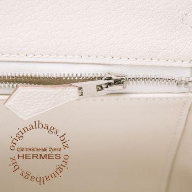 Hermes Birkin 25 Craie