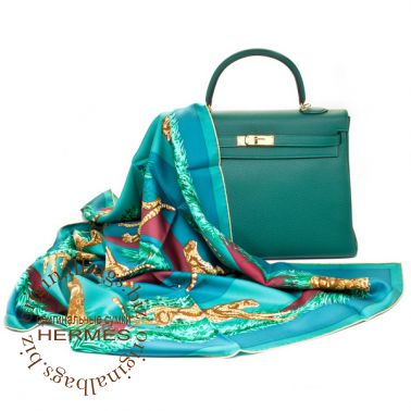 Hermes Kelly 35 Malachite