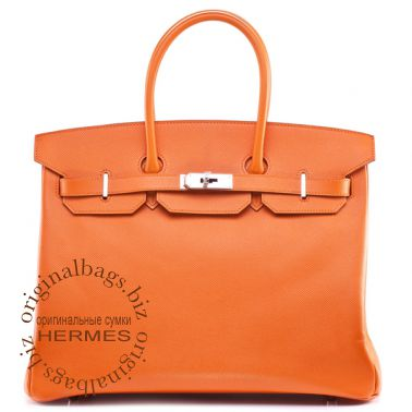 Hermes Birkin 35 Orange