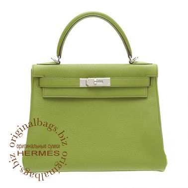 Hermes Kelly 28 Anis Green