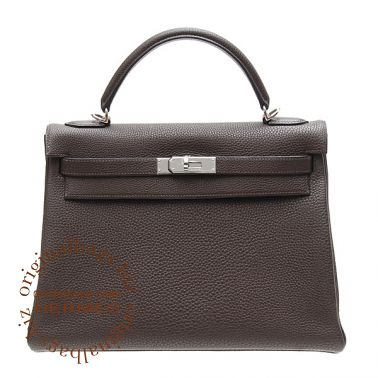 Hermes Kelly 32 Chocolate