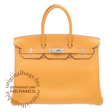 Hermes Birkin 35 Moutarde