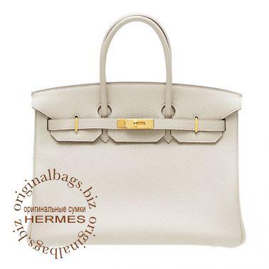 Hermes Birkin 35 Pearl Grey