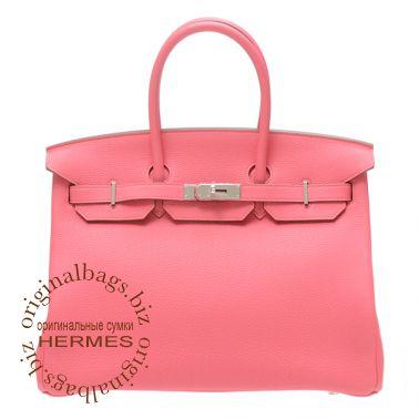 Hermes Birkin 35 Rose Lipstick