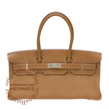Hermes Shoulder Birkin Gold