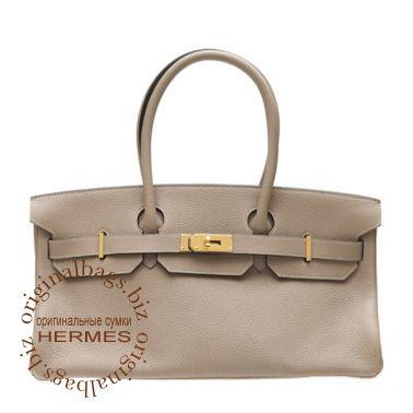 Hermes Shoulder Birkin Grey Tourterelle