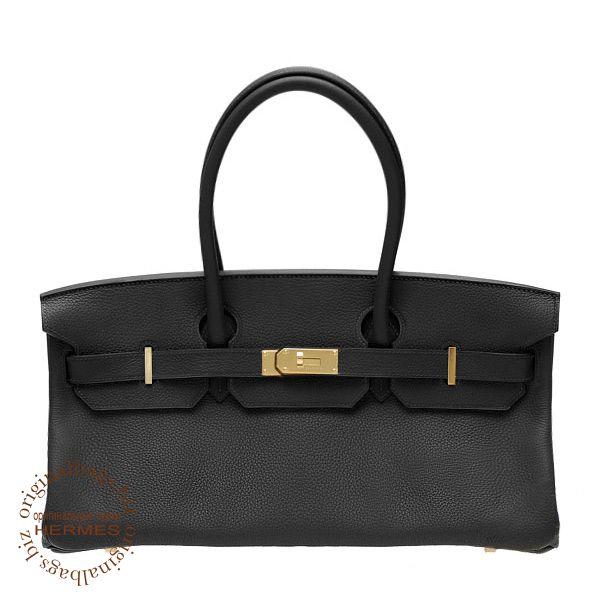 сумка Birkin оригинал : Hermes shoulder birkin black