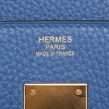 Hermes Birkin 30 Bleu Agate