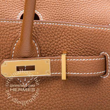 Hermes Birkin 30 Gold