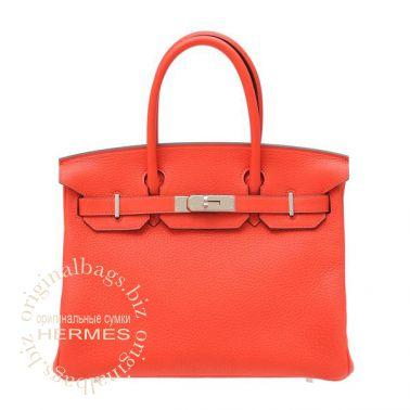 Hermes Birkin 30 Rouge Pivoine