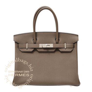 Hermes Birkin 30 Taupe Grey