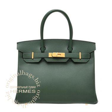 Hermes Birkin 30 Vert Anglais