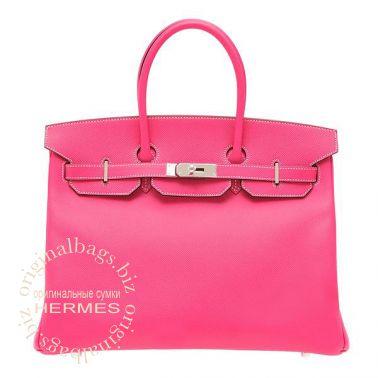 Hermes Birkin 35 Rose Tyrien