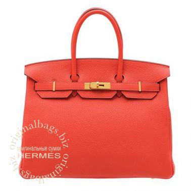 Hermes Birkin 35 Rouge Pivoine