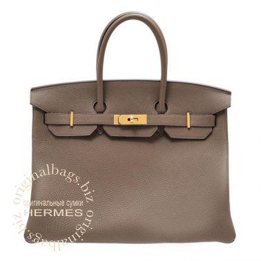 Hermes Birkin 35 Taupe Grey