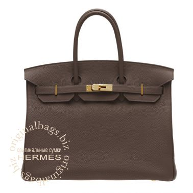 Hermes Birkin 35 Chocolate
