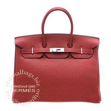 Hermes Birkin 35 Rouge Garance