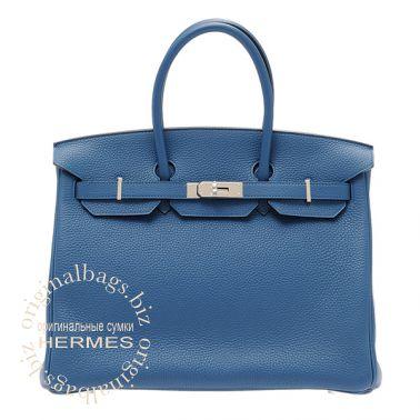 Hermes Birkin 35 Thalassa Blue