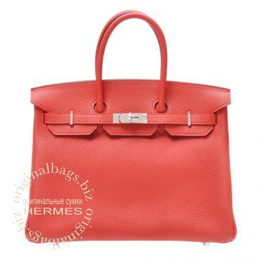 Hermes Birkin 35 Geranium