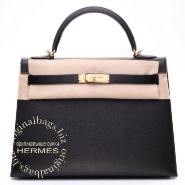 Hermes Kelly 32 Black