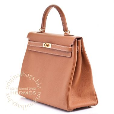 Hermes Kelly 35 Gold