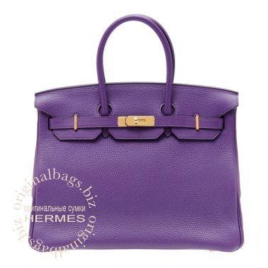 Hermes Birkin 35 Ultraviolet