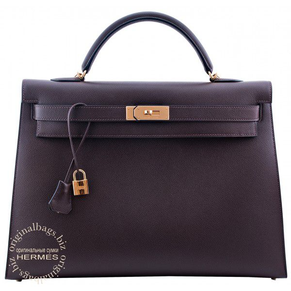 9bec7dca2a71 Hermes Kelly 40 Chocolate
