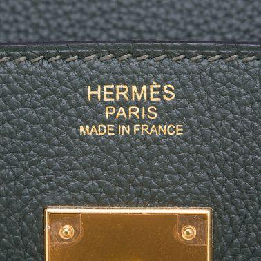 Hermes Birkin 30 Vert Fonce
