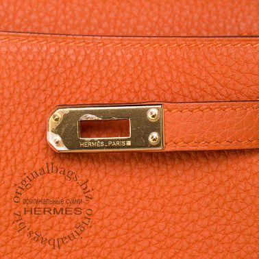 Hermes Kelly 25 Orange