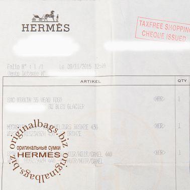 Hermes Birkin 35 Blue Glacier
