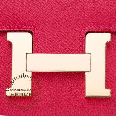 Hermes Constance 18 cm Rouge Casaque