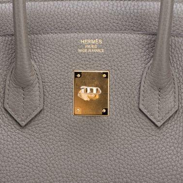 Hermes Birkin 35 Etain