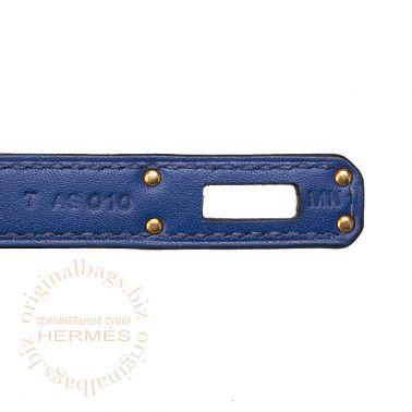 Hermes Birkin 25 Blue Sapphire